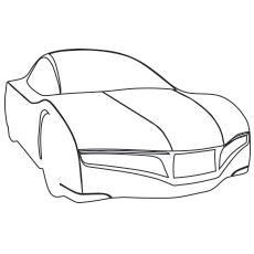 the lamborghini reventon car color to print - Lamborghini Coloring Pages