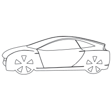 the lamborghini versace car color to print - Lamborghini Coloring Pages