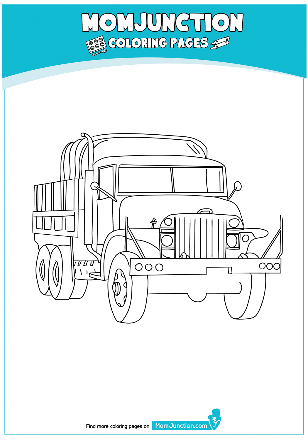 The-Military-Truck-Coloring-Page-17