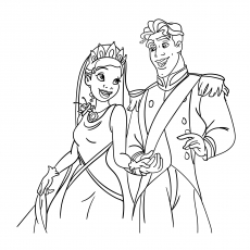 The Princess With Her Prince