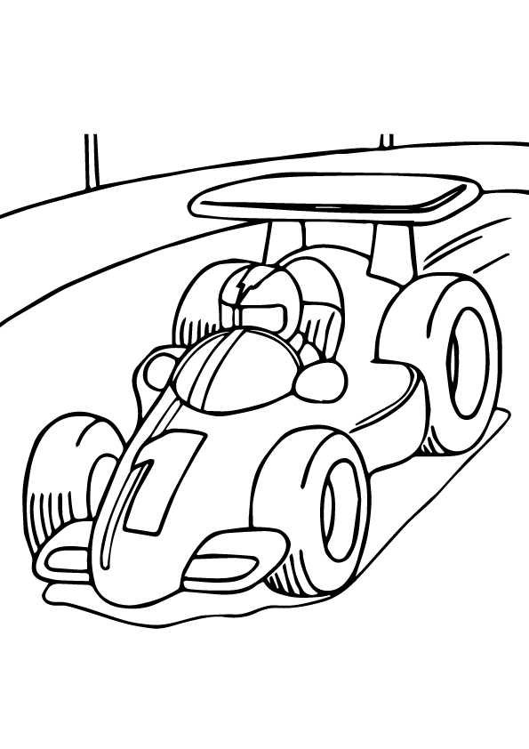 The-Race-Car-a-Coloring-he