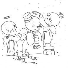 The Snowman As Angel
