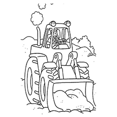 The-Tractor-Scooping