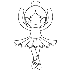 Coloring Pages Of Ballerina