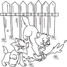 The Berlioz coloring pages