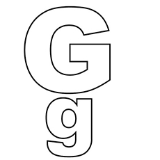 image regarding Printable Letter G called Greatest 25 Cost-free Printable Letter G Coloring Web pages On the net