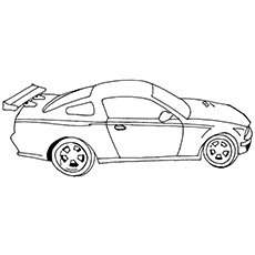 Top 25 Race Car Coloring Pages For Your Little Ones - drag car coloring pages