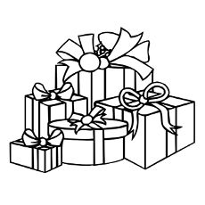 Christmas Gifts Coloring Pages Printables