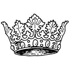 the crown of denmark - Crown Coloring Pages