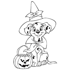 Amazing Disney Halloween Coloring Pages For Your Little Ones