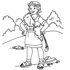 top 25 david and goliath coloring pages for your little ones