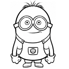 the despicableme coloring pages - Coloring Page For Kids