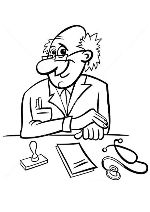 The-doctor-writing-a-prescription