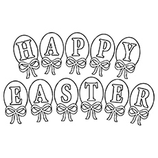 Easter Greetings Jesus Is Risen From Cross Coloring Pages