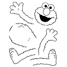 Coloring Pages Of Elmo Puzzle