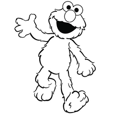 elmo for toddlers coloring page h m pages toddler