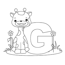 photo regarding Printable Letter G referred to as Greatest 25 Free of charge Printable Letter G Coloring Webpages On-line