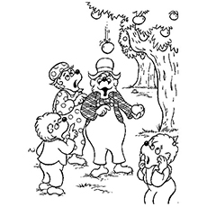 bears coloring pages Top 25 Free Printable Berenstain Bears Coloring Pages Online bears coloring pages