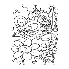 Springtime Coloring Pages Gorgeous Top 35 Free Printable Spring Coloring Pages Online