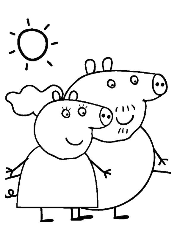 The-granny-and-grandpa-pig