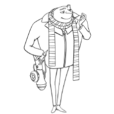 Top 35 despicable me 2 coloring pages for your naughty kids the gru coloring pages thecheapjerseys Choice Image