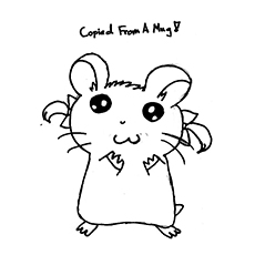 The-hand-drawn-hamster