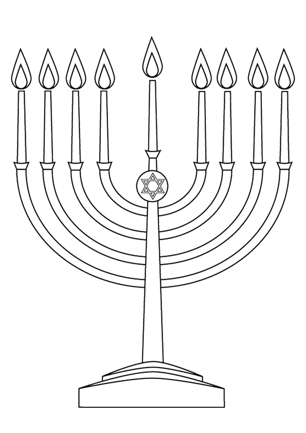 The-hanukkah-menorah