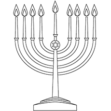 graphic about Menorah Printable titled Best 14 No cost Printable Getaway Coloring Web pages On the web