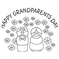 Free coloring pages for grandparents day ~ Top 10 Grandparents Day Coloring Pages For Your Little Ones
