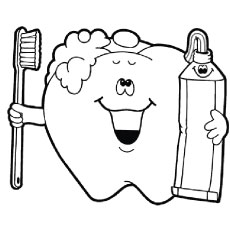 Tooth Coloring Pages Printable Stunning Top 10 Free Printabe Dental Coloring Pages Online