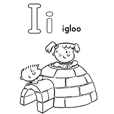the i for igloo