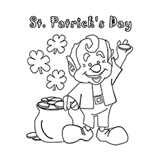 Top 25 Free Printable St Patricks Day Coloring Pages Online