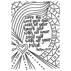 bible verses coloring pages Top 10 Free Printable Bible Verse Coloring Pages Online bible verses coloring pages