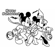 25 Amazing Disney Halloween Coloring Pages For Your Little Ones