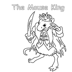 The Mouse King Barbie Nutcracker Colouring Pages