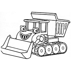 cat construction coloring pages printable truck - Construction Trucks Coloring Pages