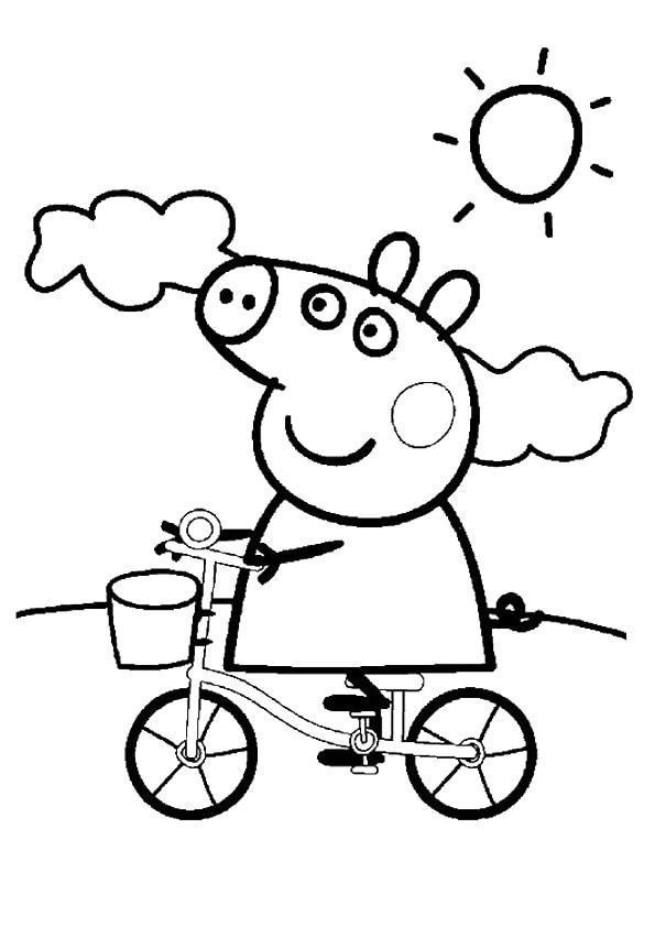 The-peppa-cycling