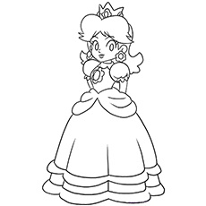 the happy princess peach the princess peach