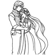 graphic relating to Rapunzel Printable Coloring Pages titled 20 Eye-catching Rapunzel Coloring Internet pages For Your Minor Woman
