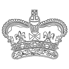 Top 30 Free Printable Crown Coloring Pages Online