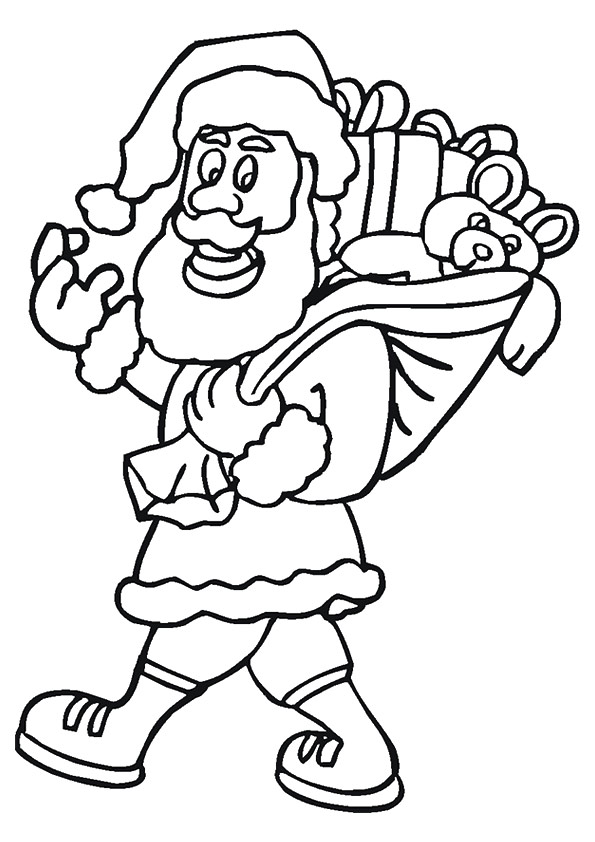 The-santa-carrying-gifts