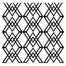 coloring pages of seamless geometric shape - Free Printable Coloring Pages For Adults Geometric