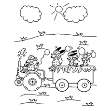 The Sheep Riding Tractor