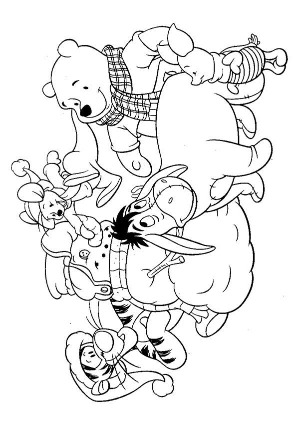 The-snowman-with-team-disney