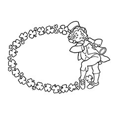 St.Patricks Day Coloring Page