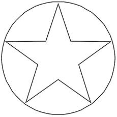 Star Shaped Geometric Coloring pages