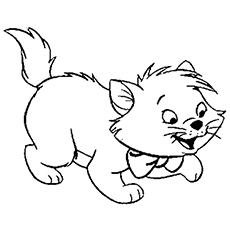 the toulouse - Cute Kitten Coloring Pages