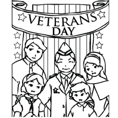 the veterans day - Military Coloring Pages Printable