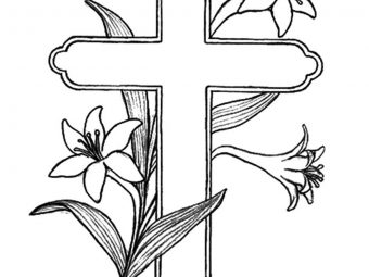 Top 10 Cross Coloring Pages For Your Little Ones
