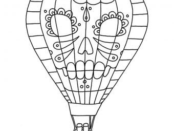 Top 10 Hot Air Balloon Coloring Pages For Your Little Ones
